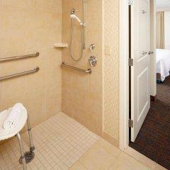 Отель Residence Inn by Marriott Columbus Downtown США, Колумбус - отзывы, цены и фото номеров - забронировать отель Residence Inn by Marriott Columbus Downtown онлайн ванная