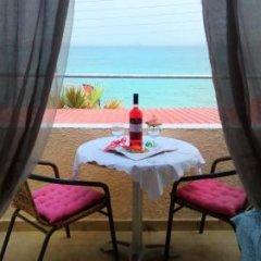 Отель Beach Amaryllis Греция, Агистри - отзывы, цены и фото номеров - забронировать отель Beach Amaryllis онлайн балкон