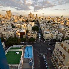 Отель Metropolitan Suites Тель-Авив балкон