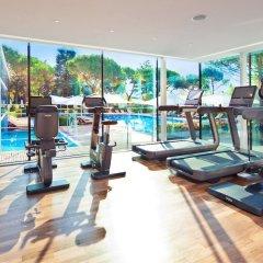 Отель Beau-Rivage Palace фитнесс-зал
