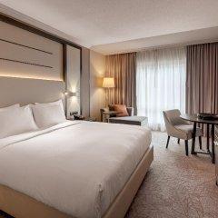 Отель Hilton Munich City Германия, Мюнхен - 9 отзывов об отеле, цены и фото номеров - забронировать отель Hilton Munich City онлайн комната для гостей фото 5