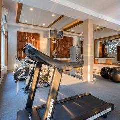 Bhukitta Hotel & Spa фитнесс-зал фото 3