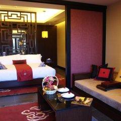 Отель Banyan Tree Lijiang 5* Люкс двуспальная кровать