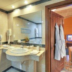 Отель Palazzo Capua Мальта, Слима - отзывы, цены и фото номеров - забронировать отель Palazzo Capua онлайн ванная