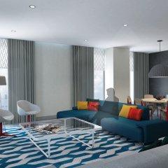 Отель Aloft Al Ain ОАЭ, Эль-Айн - отзывы, цены и фото номеров - забронировать отель Aloft Al Ain онлайн комната для гостей фото 5