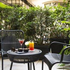 Отель Le Narcisse Blanc & Spa Франция, Париж - 1 отзыв об отеле, цены и фото номеров - забронировать отель Le Narcisse Blanc & Spa онлайн балкон
