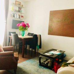 Апартаменты Comfortable 1 Bedroom Apartment in Paris 7th комната для гостей фото 3