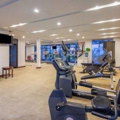 Отель Holiday Inn Shifu Гуанчжоу фитнесс-зал фото 3
