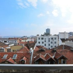 Отель Dositej Apartment Сербия, Белград - отзывы, цены и фото номеров - забронировать отель Dositej Apartment онлайн балкон