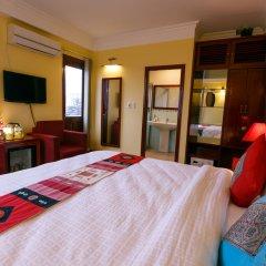 Fansipan View Hotel сейф в номере