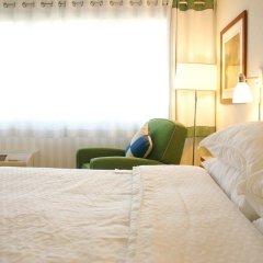 Отель Four Points by Sheraton Columbus Ohio Airport США, Колумбус - отзывы, цены и фото номеров - забронировать отель Four Points by Sheraton Columbus Ohio Airport онлайн комната для гостей фото 4