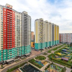 Апартаменты Apartment 477 on Mitinskaya 28 bldg 3 балкон