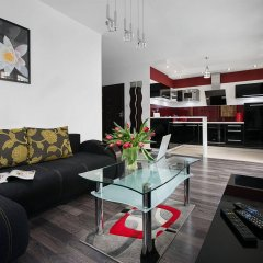 Апартаменты Apartinfo Exclusive Sopot Apartment комната для гостей фото 5