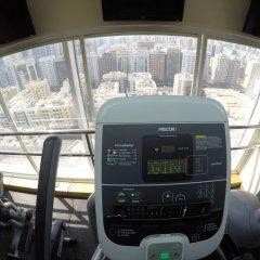 Отель Crowne Plaza Abu Dhabi фитнесс-зал фото 2