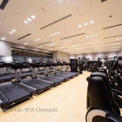 Отель Hoshinoya Tokyo Токио фитнесс-зал фото 2
