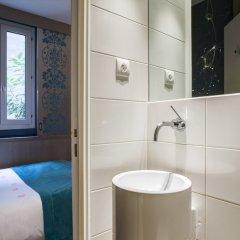 Отель The Five Hotel Франция, Париж - отзывы, цены и фото номеров - забронировать отель The Five Hotel онлайн ванная