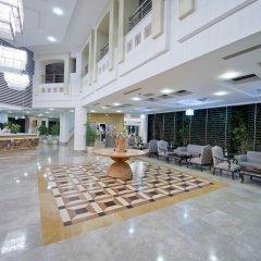 Отель Trendy Palm Beach - All Inclusive Сиде интерьер отеля
