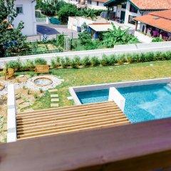 Отель Restaurant Santiago Франция, Хендее - отзывы, цены и фото номеров - забронировать отель Restaurant Santiago онлайн бассейн фото 2