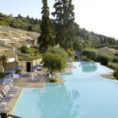 Отель Aeolos Beach Resort All Inclusive Греция, Корфу - отзывы, цены и фото номеров - забронировать отель Aeolos Beach Resort All Inclusive онлайн бассейн фото 2