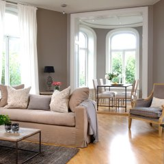 Апартаменты Frogner House Apartments - Riddervoldsgate 10 комната для гостей фото 2