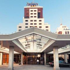 Гостиница Рэдиссон САС Астана Казахстан, Нур-Султан - 8 отзывов об отеле, цены и фото номеров - забронировать гостиницу Рэдиссон САС Астана онлайн вид на фасад