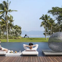 Отель Park Hyatt Sanya Sunny Bay Resort фитнесс-зал фото 3
