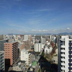 Отель Monte Hermana Fukuoka Япония, Фукуока - отзывы, цены и фото номеров - забронировать отель Monte Hermana Fukuoka онлайн балкон