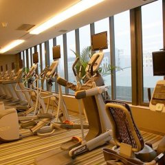 Отель Aloft Zhengzhou Shangjie фитнесс-зал