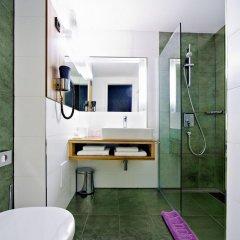 Отель Bohem Art Hotel Венгрия, Будапешт - 1 отзыв об отеле, цены и фото номеров - забронировать отель Bohem Art Hotel онлайн ванная