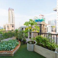Отель Well Hotel Bangkok Таиланд, Бангкок - отзывы, цены и фото номеров - забронировать отель Well Hotel Bangkok онлайн балкон