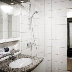 Отель Munkebjerg Hotel Дания, Вайле - отзывы, цены и фото номеров - забронировать отель Munkebjerg Hotel онлайн ванная