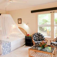 Отель Crusoe's Retreat Фиджи, Вити-Леву - отзывы, цены и фото номеров - забронировать отель Crusoe's Retreat онлайн комната для гостей фото 5