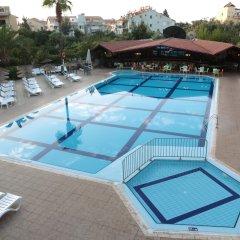 Club Turquoise Apartments Турция, Мармарис - отзывы, цены и фото номеров - забронировать отель Club Turquoise Apartments онлайн бассейн