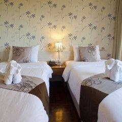 Отель Villa Cha Cha Rambuttri Бангкок комната для гостей фото 3