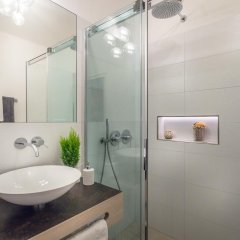 Отель Pension Riedingerhof Меран ванная фото 2