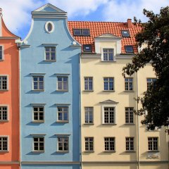 Отель Apart Neptun Польша, Гданьск - 5 отзывов об отеле, цены и фото номеров - забронировать отель Apart Neptun онлайн вид на фасад