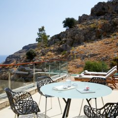 Lindos Blu Luxury Hotel & Suites - Adults Only пляж фото 2