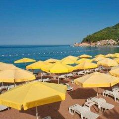 Hotel Rivijera пляж