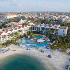 Отель Renaissance Aruba Resort & Casino пляж фото 2