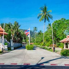 Отель Duangjitt Resort, Phuket Пхукет парковка