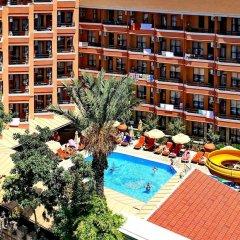 Kleopatra Fatih Hotel Аланья балкон