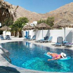 Отель Villa Valvis Греция, Остров Санторини - отзывы, цены и фото номеров - забронировать отель Villa Valvis онлайн бассейн