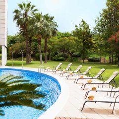 Отель Novotel Barcelona Cornella бассейн фото 2