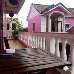 Отель Pink House Homestay Вьетнам, Хойан - отзывы, цены и фото номеров - забронировать отель Pink House Homestay онлайн балкон