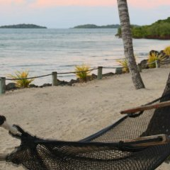 Отель Wananavu Beach Resort пляж