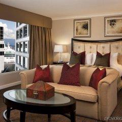 Отель The Fairmont Waterfront Канада, Ванкувер - отзывы, цены и фото номеров - забронировать отель The Fairmont Waterfront онлайн комната для гостей фото 4