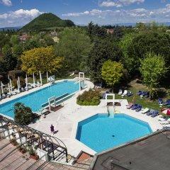 Отель Terme Orvieto Италия, Абано-Терме - отзывы, цены и фото номеров - забронировать отель Terme Orvieto онлайн бассейн фото 2