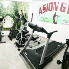 Отель Asion Lithos фитнесс-зал