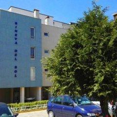 Апартаменты Sineva Del Sol Apartments Свети Влас парковка