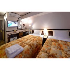 Отель Toyoko Inn Gifu-Hashima-Eki Shinkansen Minami-Guchi Хашима комната для гостей фото 5